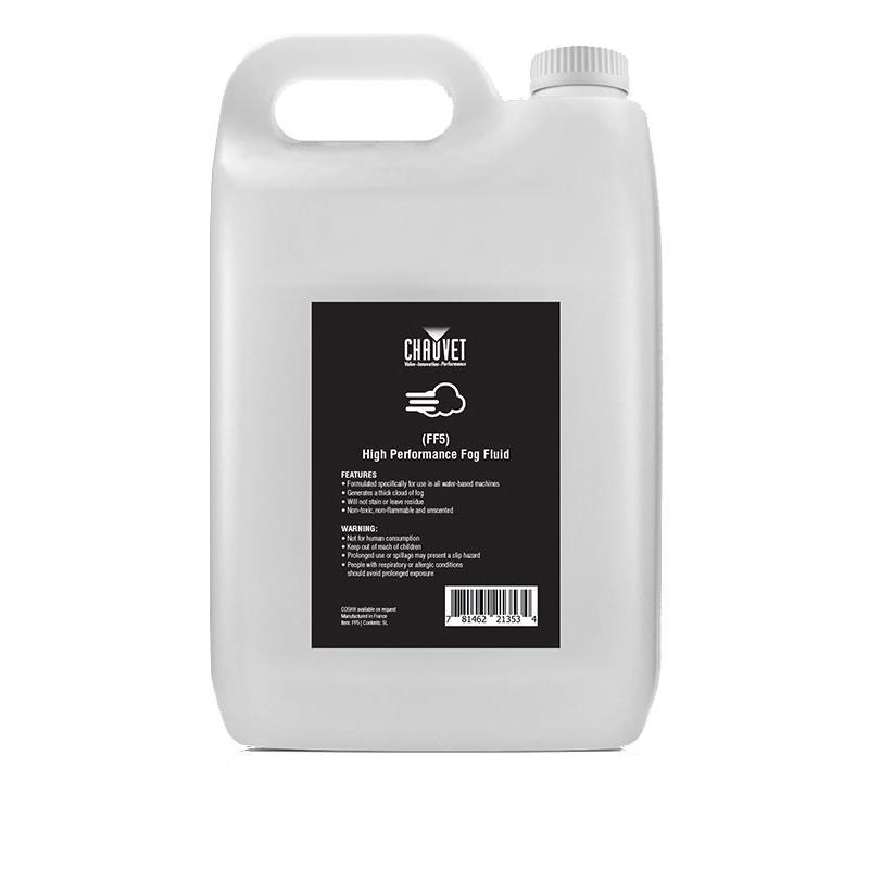 Chauvet High Performance Fog Fluid 5L (FF5)