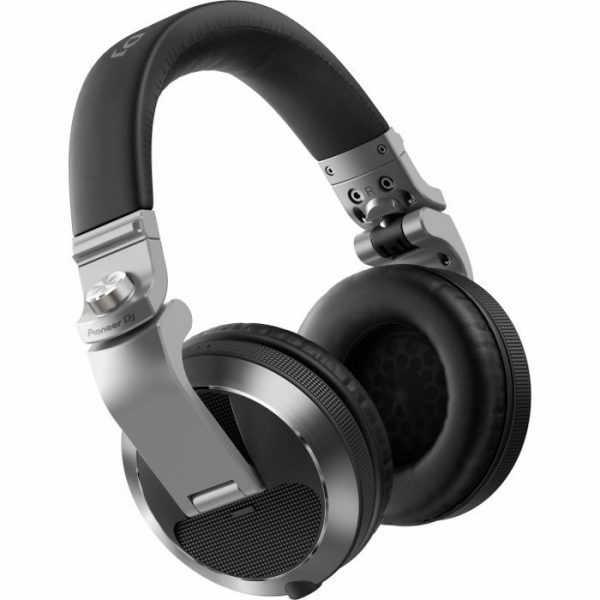 Pioneer HDJ-X7-S Professional DJ Headphones, Silver