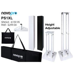Novopro PS1XL height adjustable podium/plinth stand