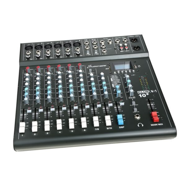 Studiomaster Club XS 10+ Compact Analog Mixer with Bluetooth