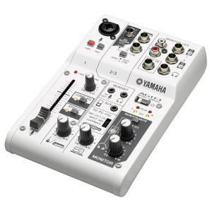 Yamaha AG03 3-Channel Hybrid Mixer