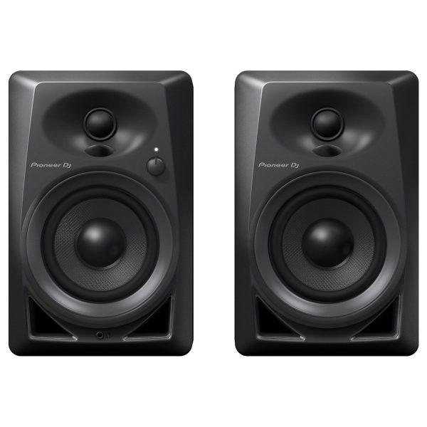 Pioneer DM-40 Active Monitor Speakers, Black