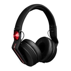 Pioneer HDJ-700-R DJ Headphones, Black/Red