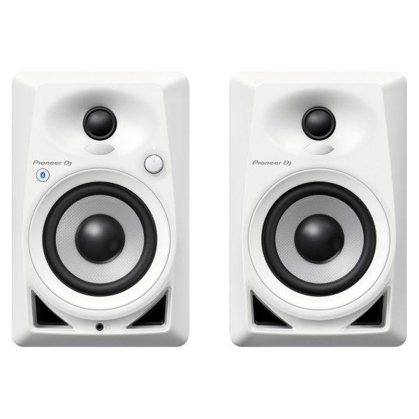Pioneer DJ DM-40BT Desktop Monitor Speakers With Bluetooth, White