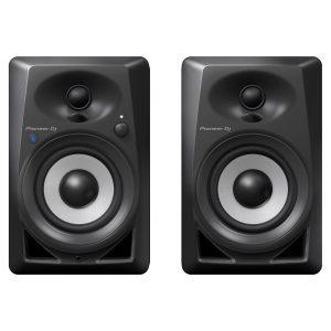 Pioneer DJ DM-40BT Desktop Monitor Speakers With Bluetooth, Black