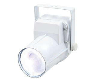 Equinox 3W LED Pinspot (White Housing)