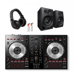 Pioneer DDJ-SB3, DM-40 and HDJ-X5 DJ Package