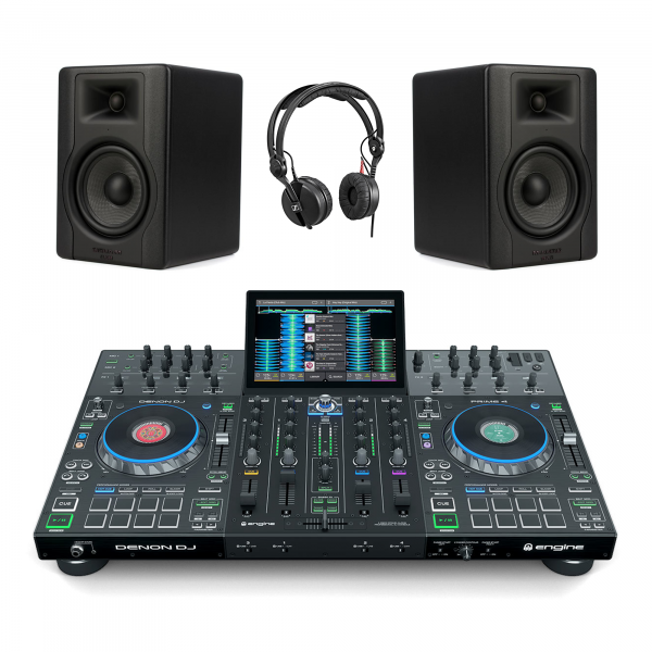 Denon DJ Prime 4 / BX5D3 / HD25 DJ Package