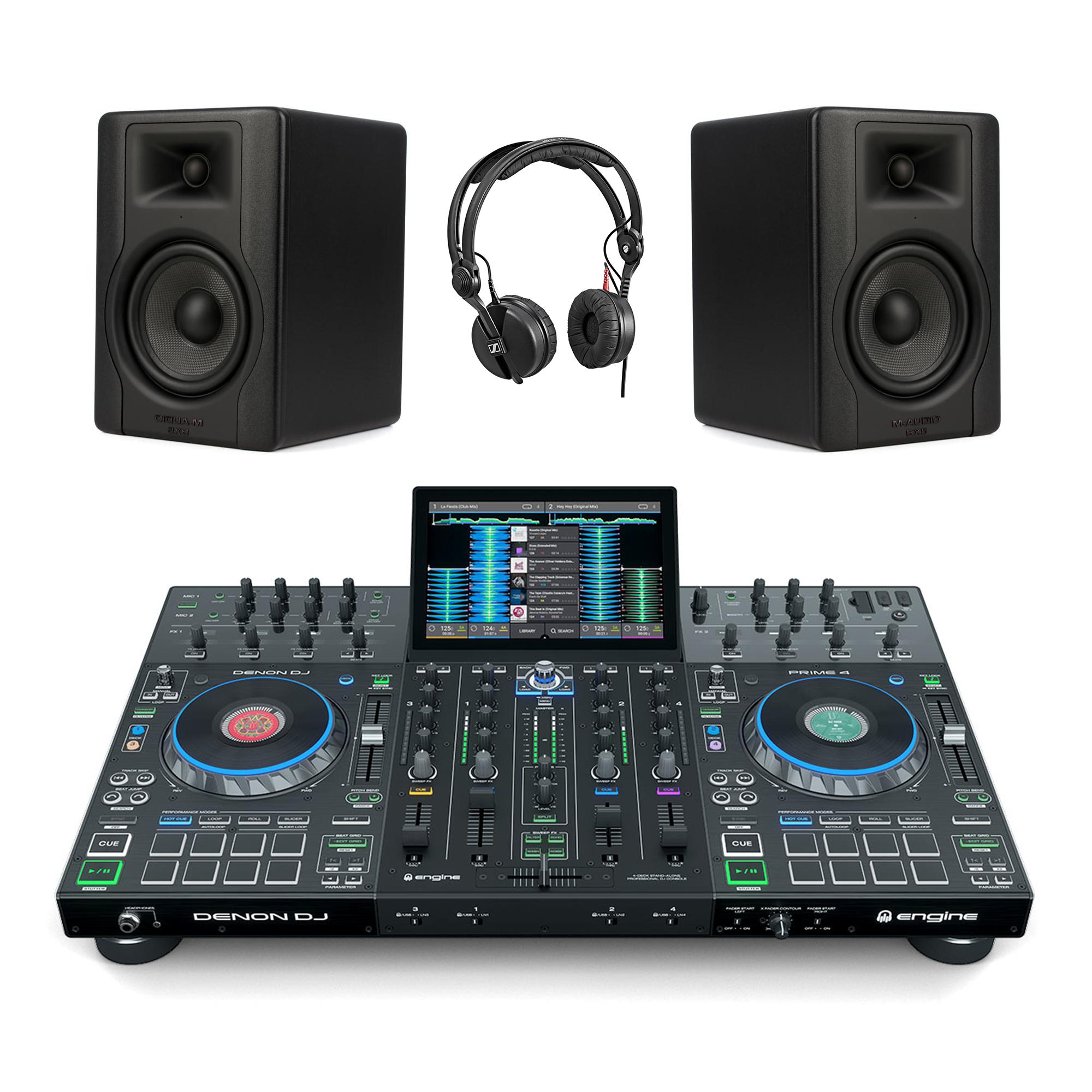 Denon DJ Prime 4 / BX5D3 / HD25 DJ Package