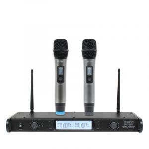 W Audio DTM 800H Twin Handheld Diversity System (863.0Mhz-865.0Mhz)