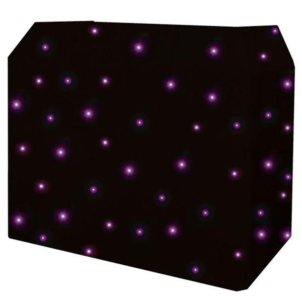 Equinox DJ Booth Quad LED Starcloth System