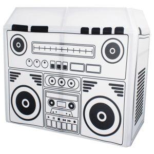 Equinox DJ Booth Boom Box Design Lycra