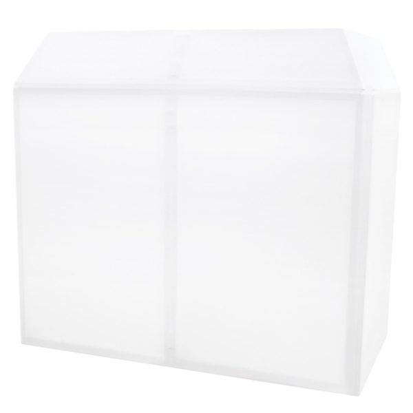 Equinox DJ Booth Replacement Lycra – White