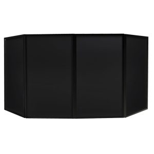 Equinox Foldable DJ Screen Black MKII
