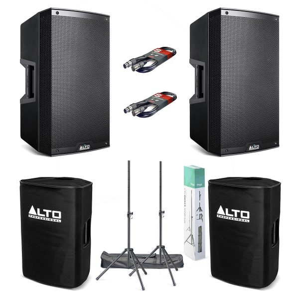 Alto TS315 Active Speaker Package