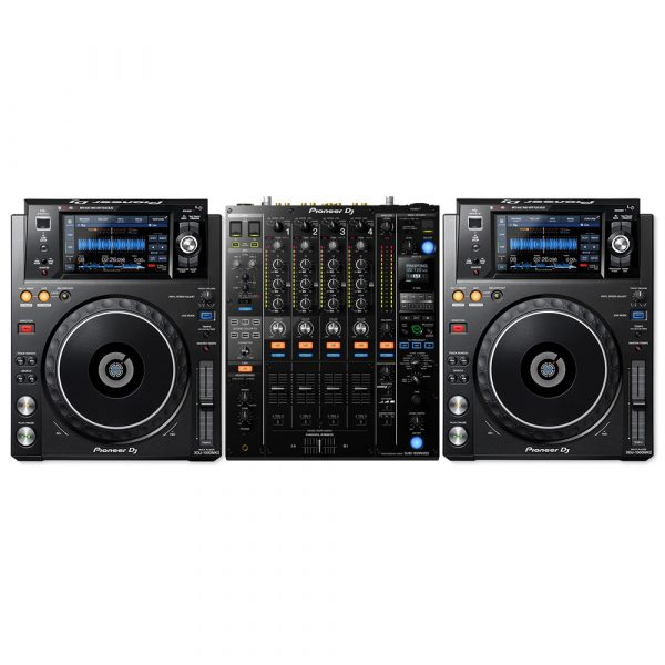 Pioneer XDJ-1000MK2 & DJM-900NXS2 DJ Package