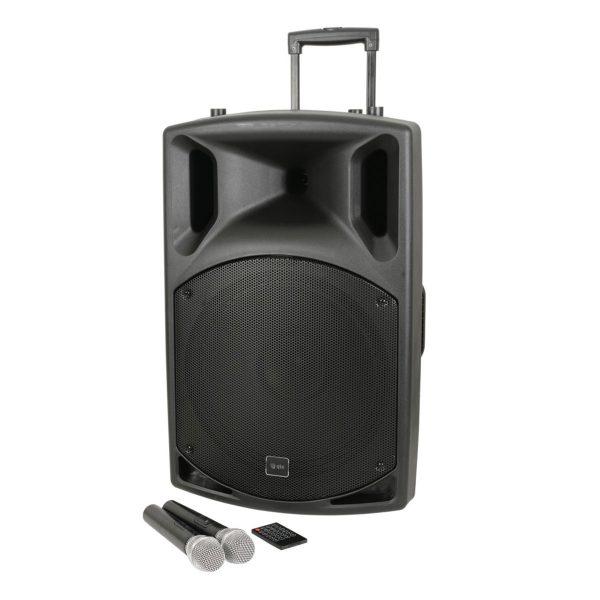 QTX QX15PA-Plus Portable PA with UHF, USB/SD/FM & Bluetooth