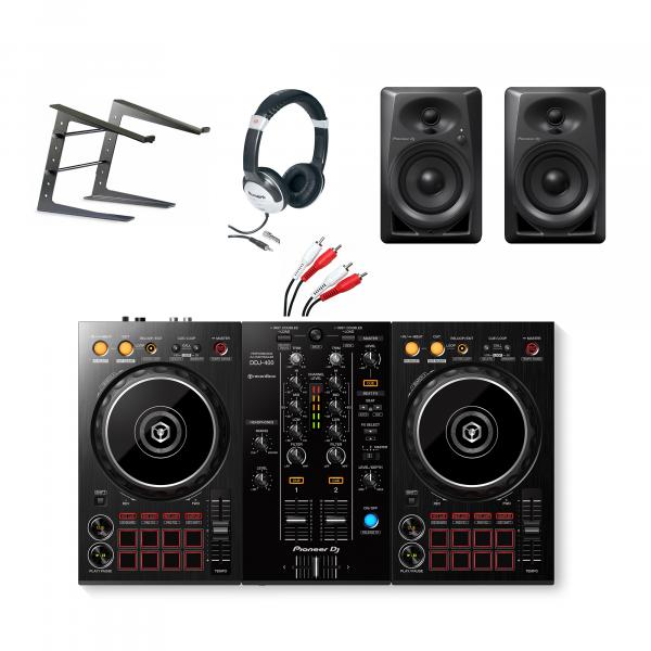 Pioneer DDJ-400 Complete Starter DJ Equipment Package
