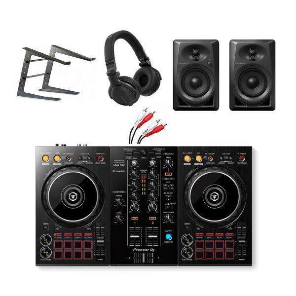 Pioneer DDJ-400 Complete Starter DJ Package