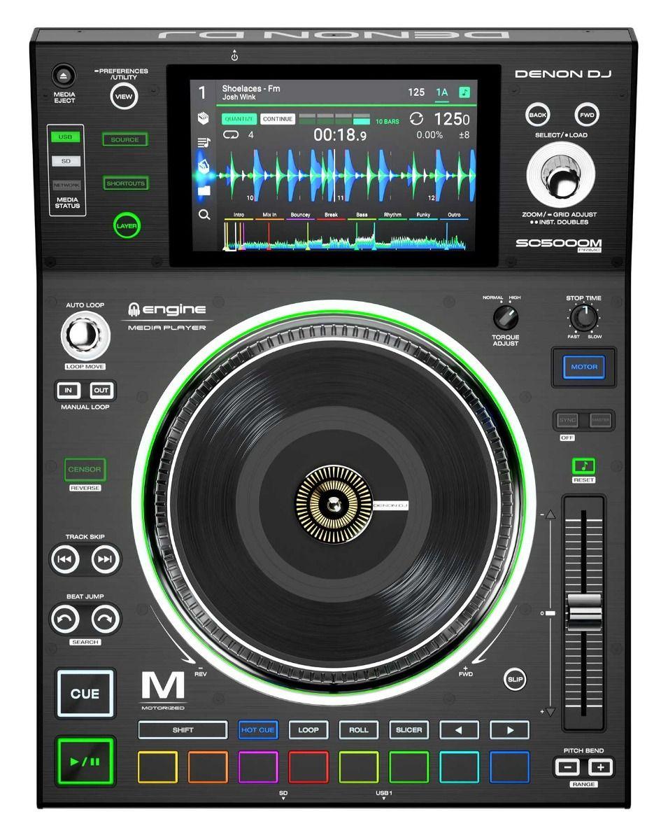 Denon DJ SC500M Prime Media Player With Motorized Platter