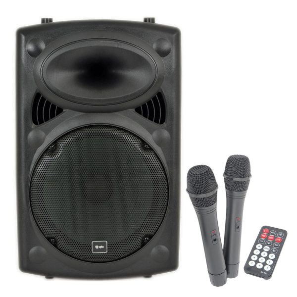 QTX QX12PA-Plus Portable PA with UHF, USB/SD/FM & Bluetooth