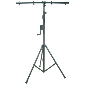 QTX Heavy Duty Lighting Stand With Winch & T-Bar
