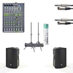 "ANT 12"" PA Speaker and Mixer Package"