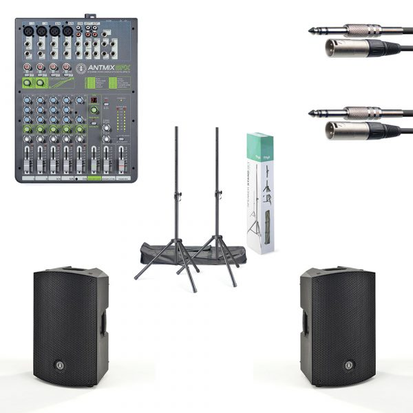 """ANT 12"""" PA Speaker and Mixer Package"""