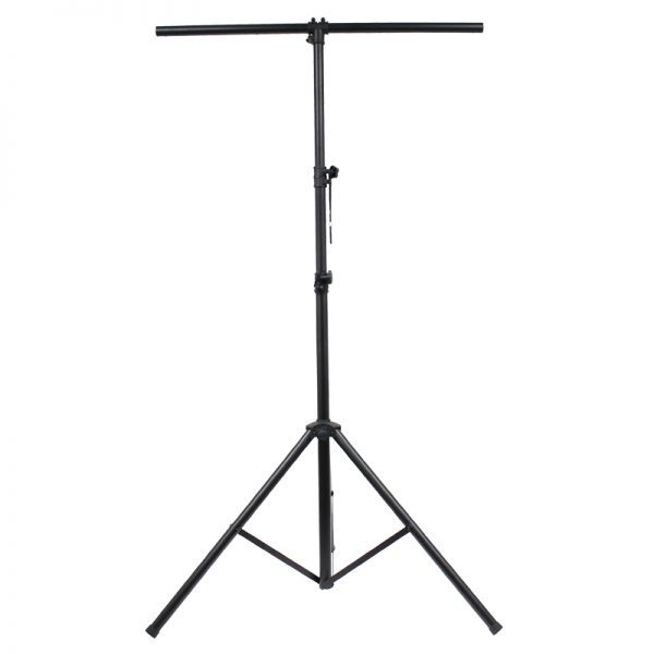 Equinox Black 3 Section Lighting Stand