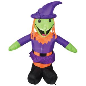 Inflatable 4ft Witch