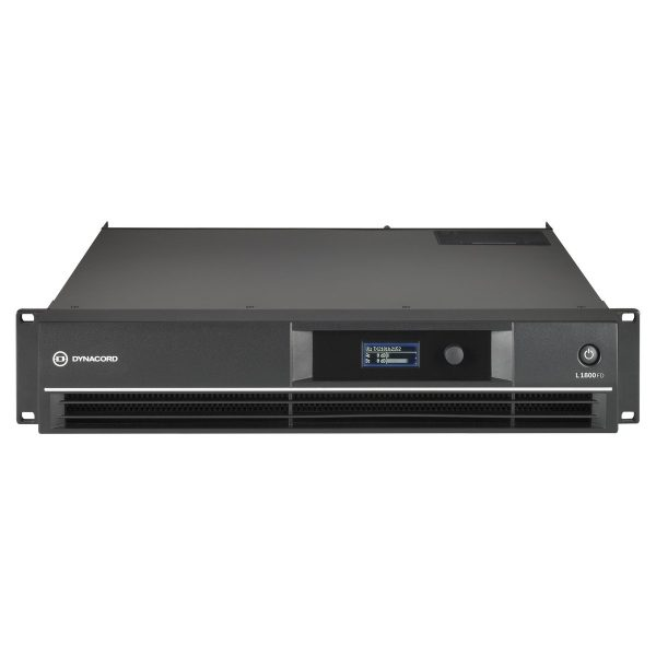 Dynacord L1800FD DSP 2 x 950 W Power Amplifier for live performance applications