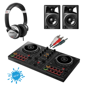 Pioneer DDJ-200 Starter DJ Equipment Package 2