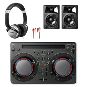 Pioneer DDJ-WeGO4 Starter DJ Equipment Package