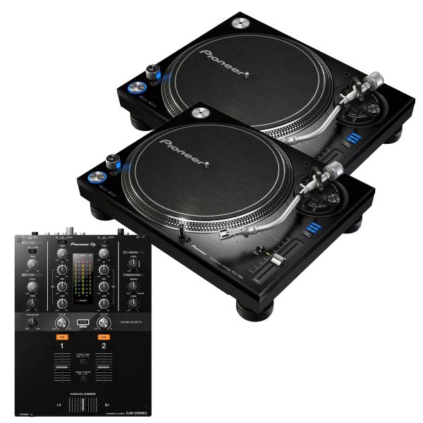 Pioneer PLX-1000 and Pioneer DJM-250 MK2 Package