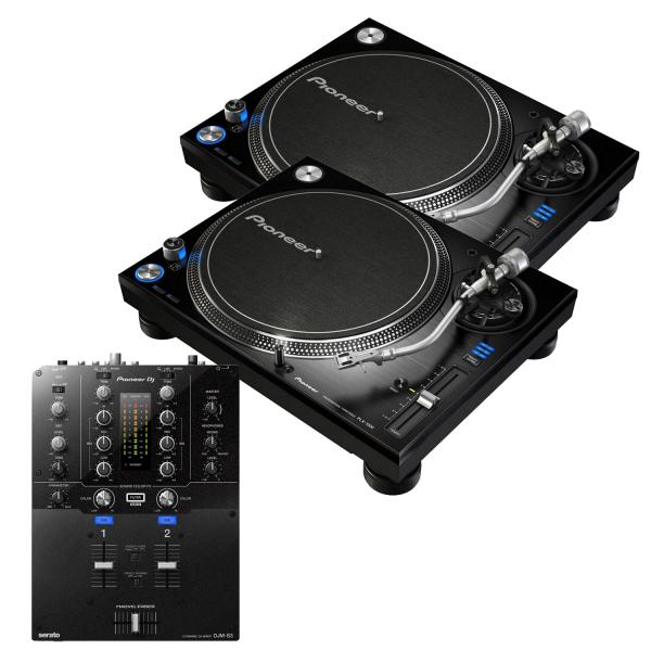 Pioneer PLX-1000 and Pioneer DJM-S3 Package