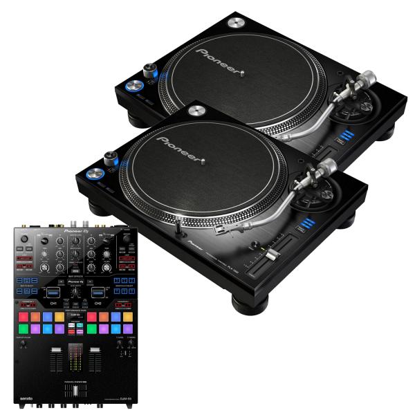 Pioneer PLX-1000 and Pioneer DJM-S9 Package