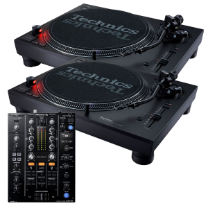 Technics SL-1210MK7 and Pioneer DJM-450 Package