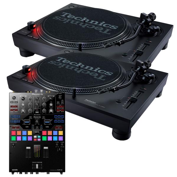 Technics SL-1210MK7 and Pioneer DJM-S9 Package