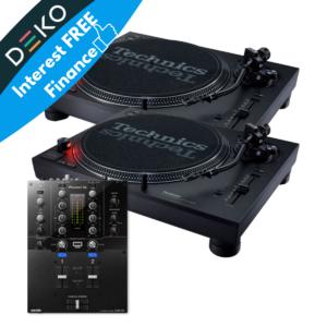 SL-1210MK7 and Pioneer DJM-S3
