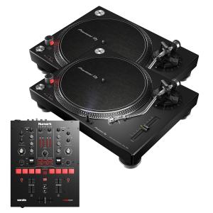 Pioneer PLX-500K and Numark Scratch Package