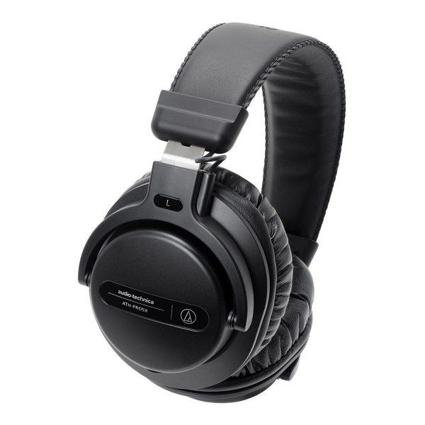 Audio-Technica ATH-PRO5X DJ Headphones, Black