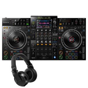 Pioneer XDJ-XZ Professional all-in-one DJ system with Pioneer HDJ-X7-K Headphones