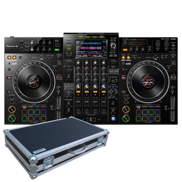 Pioneer XDJ-XZ Professional all-in-one DJ system with flightcase