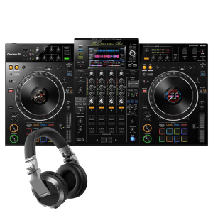 Pioneer XDJ-XZ Professional all-in-one DJ system with Pioneer HDJ-X7-S Headphones