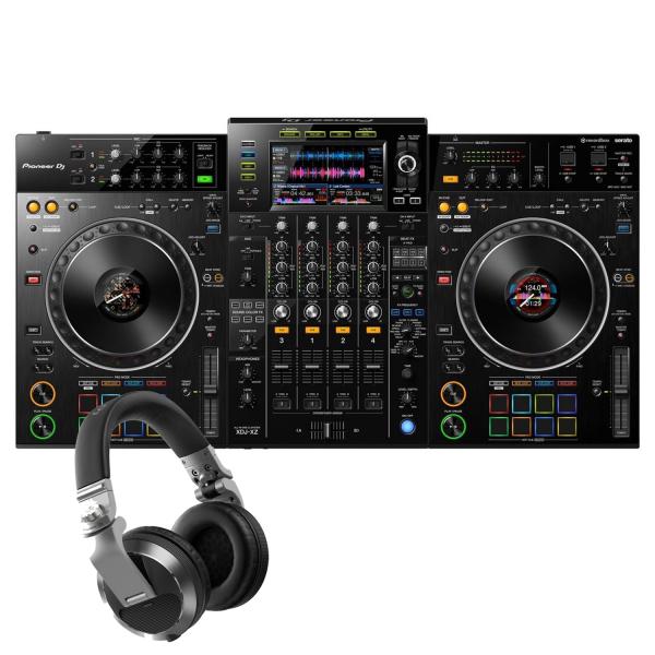 Pioneer XDJ-XZ Professional all-in-one DJ system with Pioneer HDJ-X7-S Headphones