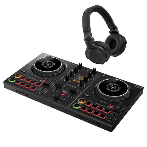 DDJ-200 Smart DJ Controller with HDJ-CUE1 Headphones