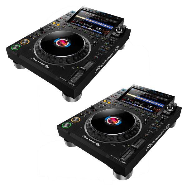 Pioneer CDJ-3000 Professional DJ Multi Player DJ Package
