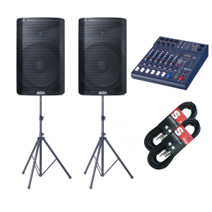 Alto TX215 600 Watt Active Speaker Package 2