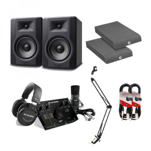 M-Audio 4 Vocal Studio Pro Recording Pack Bundle