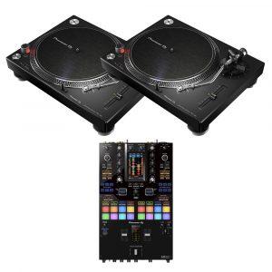 Pioneer PLX-500K & DJM-S11 DJ Package